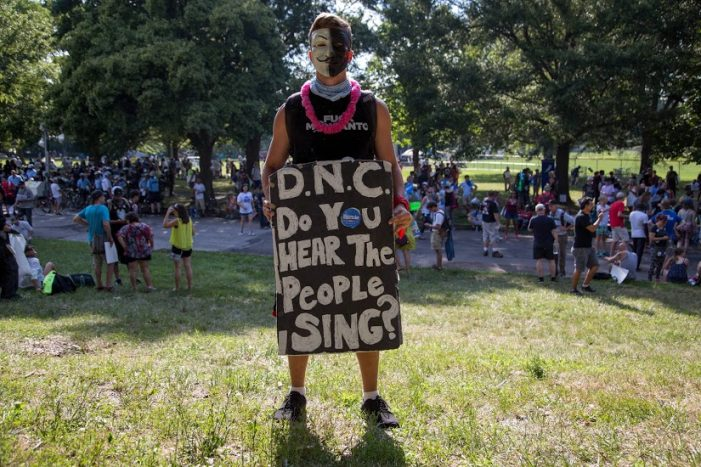 Part 1 of 3: Local photojournalist captures passion of DNC protesters