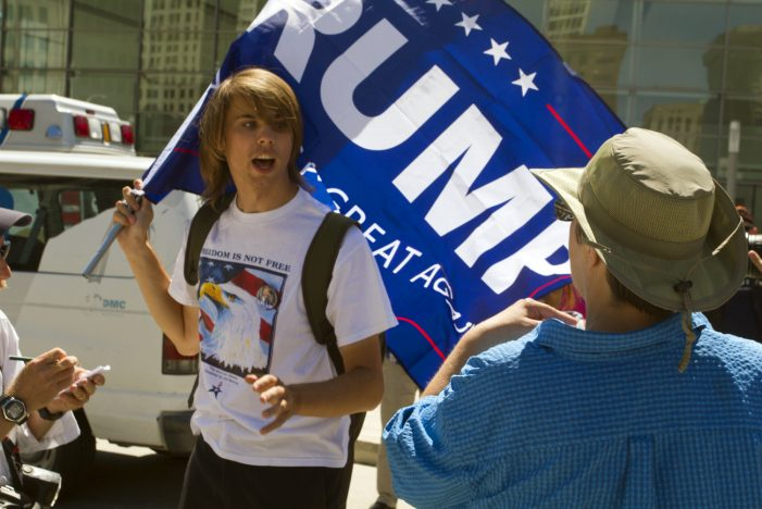 Trump supporters to rally outside Detroit's Cobo Hall during recount