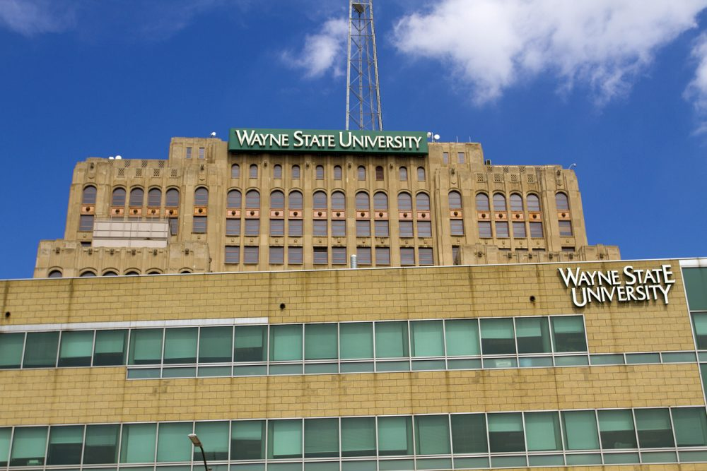 Wayne State University. Photo by Steve Neavling.