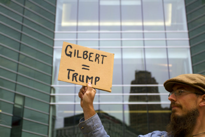 Dan Gilbert donated $750,000 to Trump's inauguration amid DOJ lawsuit