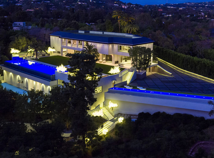 Tom Gores bought this house in L.A. for $100 million. Photo by Simon Berlyn.