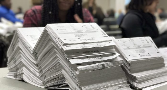 Conflicting orders throw Michigan's presidential recount into limbo
