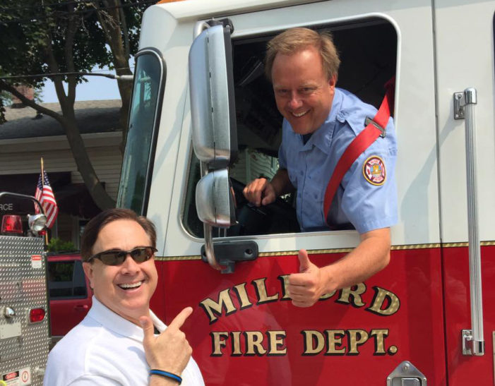 Popular Fox 2 reporter Ron Savage died during firefighting exercise