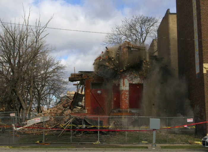 Demolition by neglect: Once-beautiful home razed in Cass Corridor