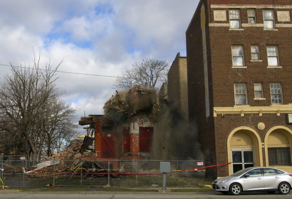 Demolition by neglect Oncebeautiful home razed in Cass Corridor