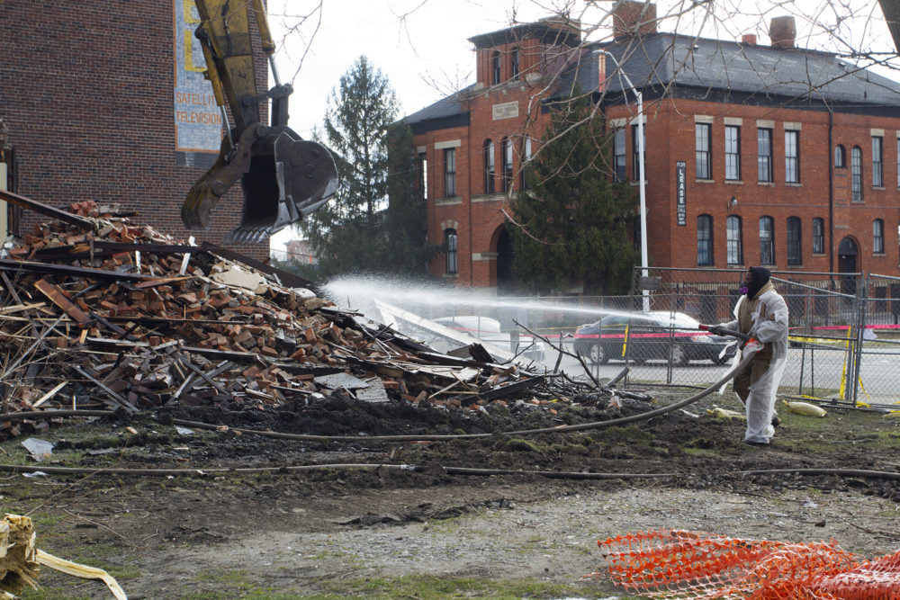 Demolition By Neglect Once Beautiful Home Razed In Cass