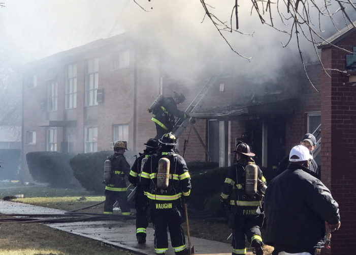 'Person of interest' questioned in apartment fire that killed 5 in Detroit