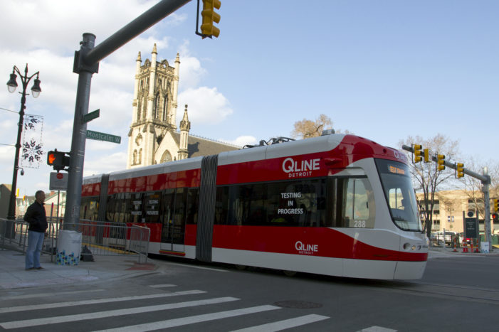 QLine suffers first mishap after smooth testing period in Detroit