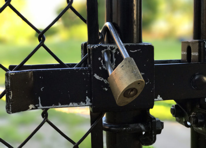 Developer padlocks popular Cass Corridor park; community fights back