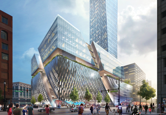 Detroit allows billionaire Gilbert to skirt affordable housing mandate for new tower