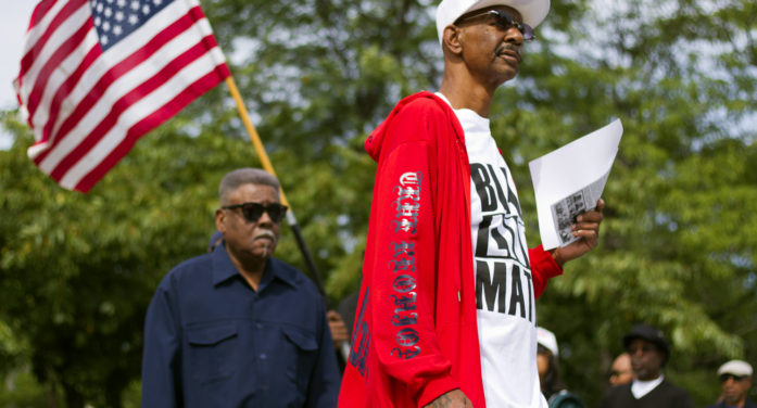 Protesters demand justice for death of tasered 15-year-old in Detroit