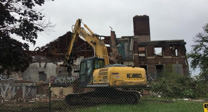 End of an Era: World-famous Kronk Gym in Detroit is being demolished today