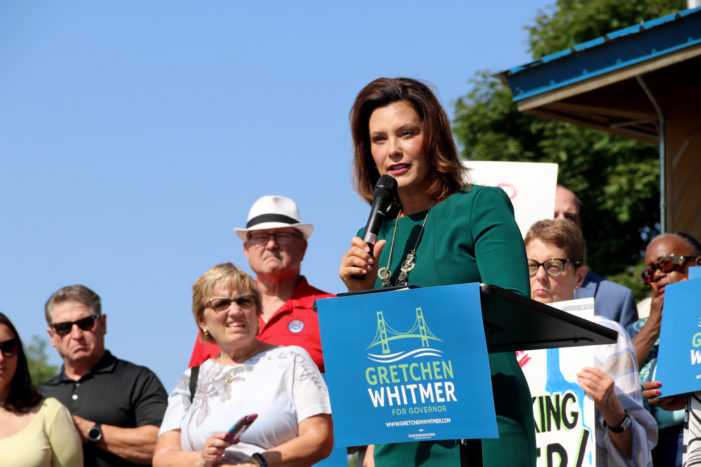 Whitmer's lead for governor, calls for fire commissioner's removal, food stamps: Your Thursday morning briefing