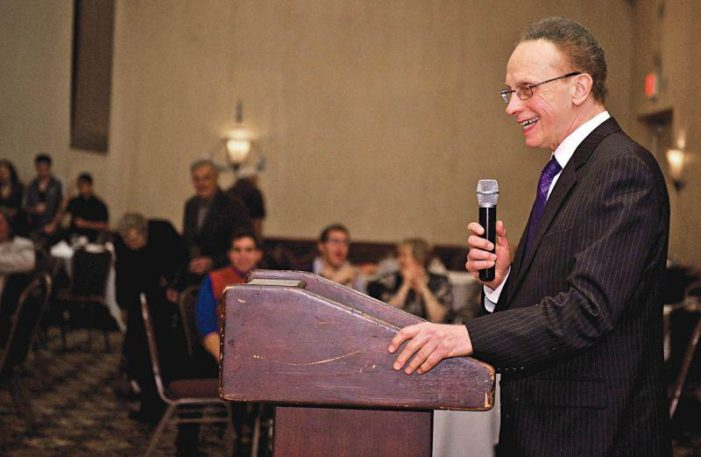Mayor Fouts mocks Santorum's disabled child as a 'mongoloid baby' with 'her tongue hanging out'